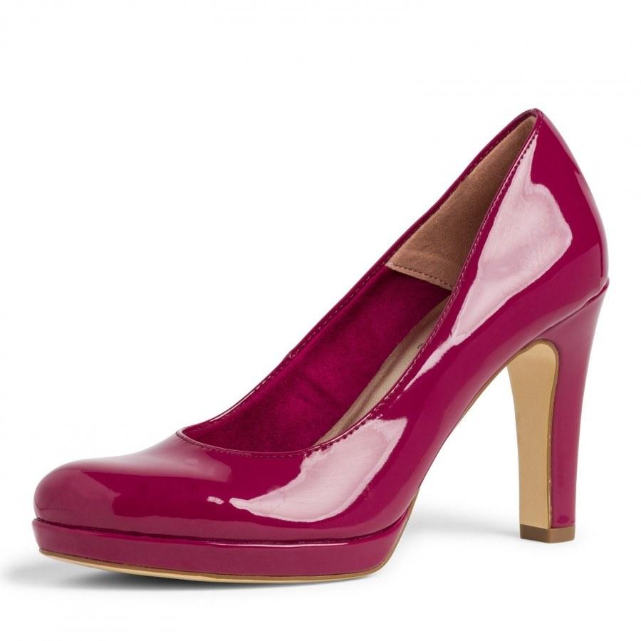 Дамски елегантни обувки на ток Tamaris мемори пяна