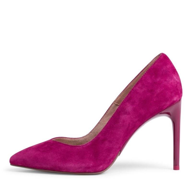 Дамски обувки на висок ток Tamaris мемори пяна естествена кожа