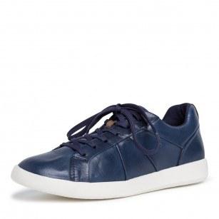 Дамски спортни обувки Tamaris мемори пяна естествена кожа сини