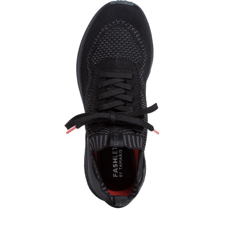Дамски спортни обувки Tamaris Fashletics черни