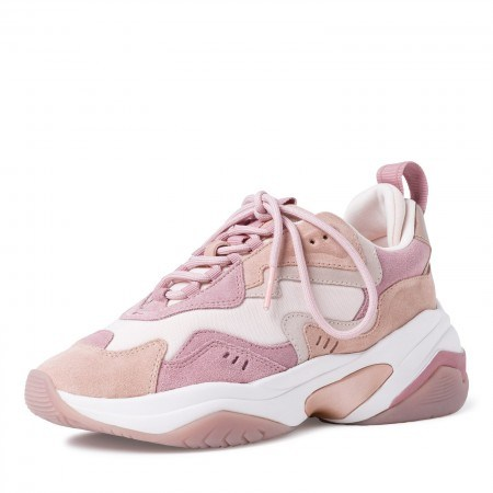 Дамски спортни обувки Tamaris Fashletics мемори пяна бели/розови