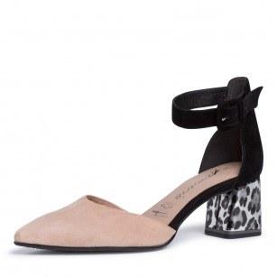 Дамски елегантни обувки на нисък ток Tamaris  ANTISHOKK ANTISLIDE мемори пяна