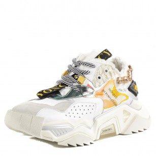 Дамски спортни обувки Yoncy® естествена кожа бежови