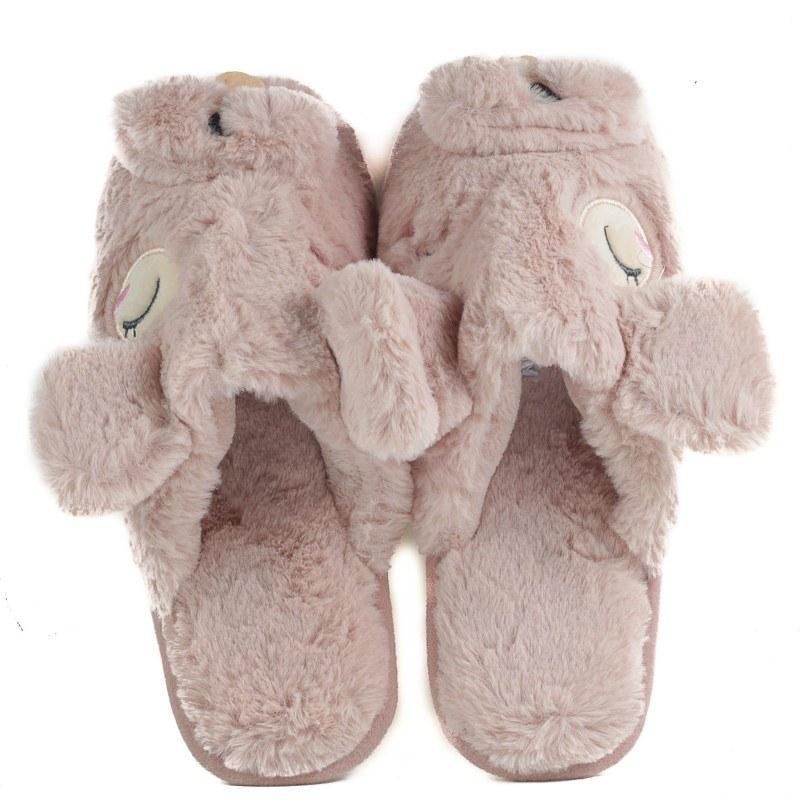 Дамски домашни чехли с пух Yoncy®
