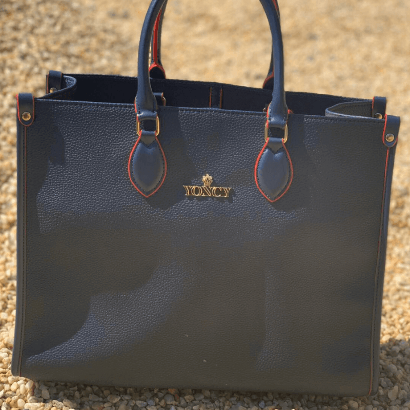 Дамска голяма чанта Yoncy® синя
