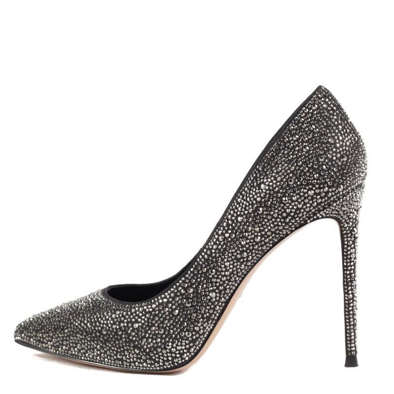 Дамски елегантни обувки Yoncy® естествена кожа сребристи