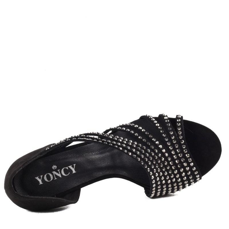 Дамски елегантни сандали Yoncy® черни