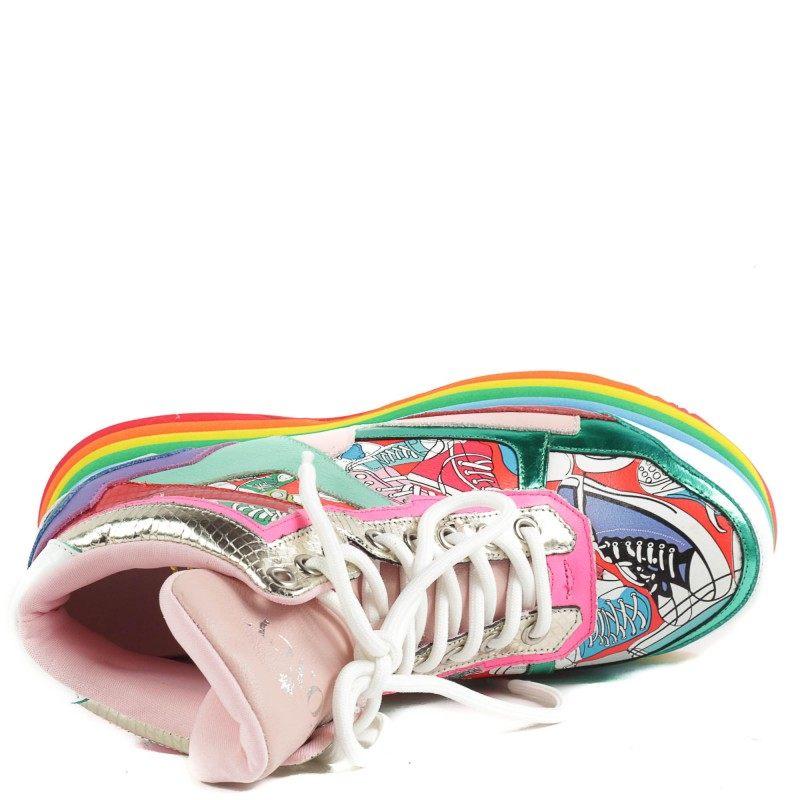 Дамски спортни обувки Yoncy® естествена кожа