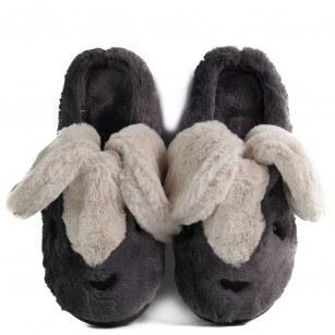 Домашни чехли Yoncy® тъмно сиви