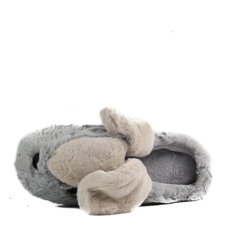 Домашни чехли Yoncy® светло сиви