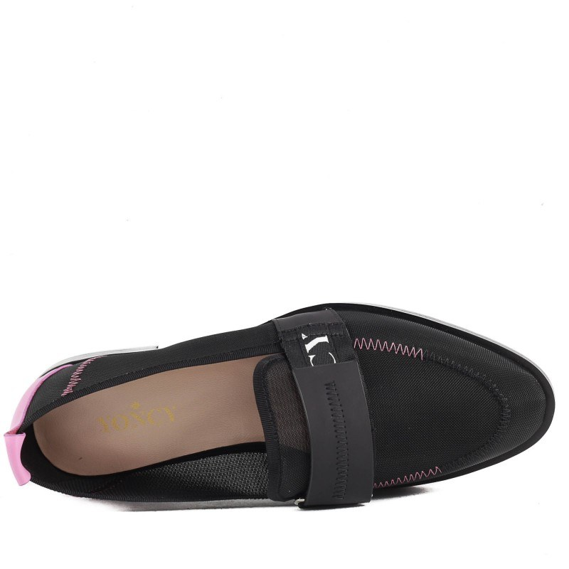 Дамски равни обувки Yoncy® черни