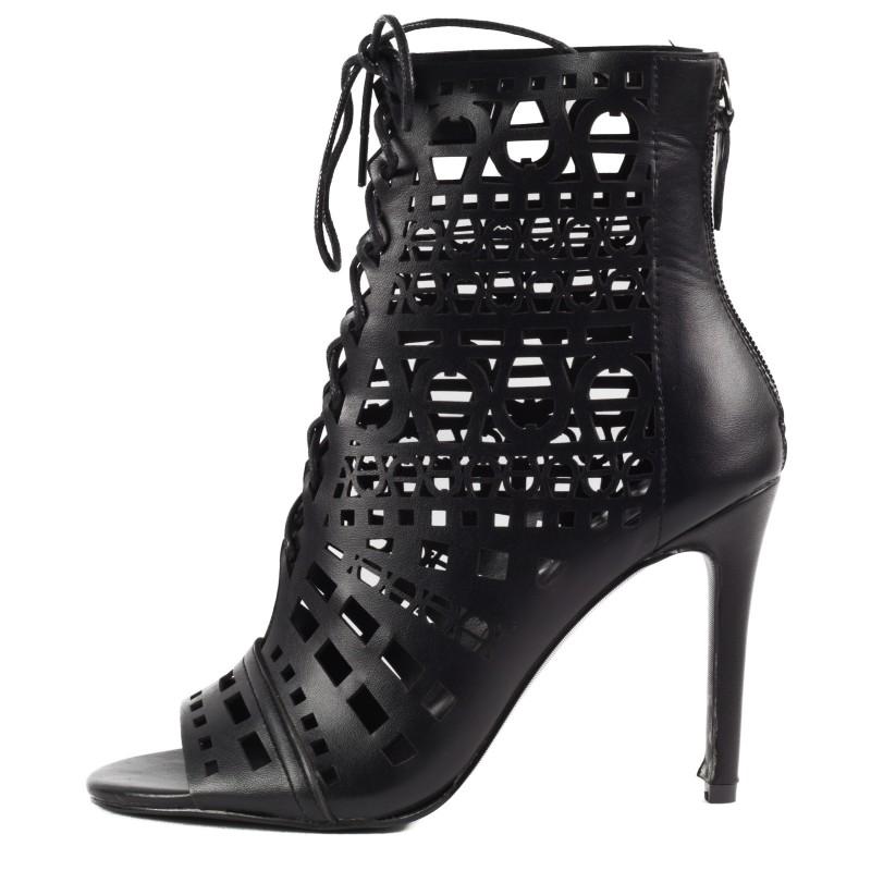 Дамски обувки на ток Yoncy® черни