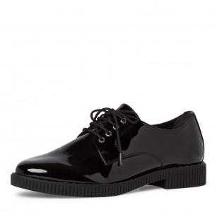 Дамски ежедневни обувки Tamaris черни TOUCH IT
