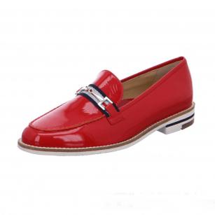 Дамски анатомични обувки Ara естествена кожа червени