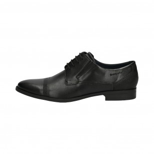 Мъжки елегантни обувки Bugatti Zenobio черни