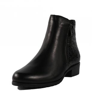 Дамски ежедневни боти Remonte естествена кожа черни D6871-01