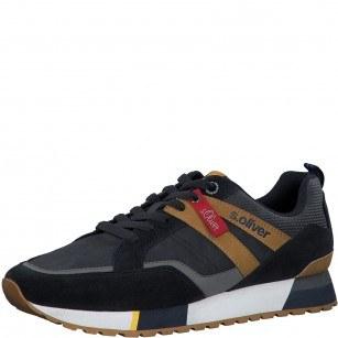 Мъжки спортни обувки S.Oliver естествена кожа сини