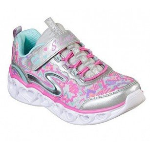 Детски спортни обувки Skechers S-lights сиви