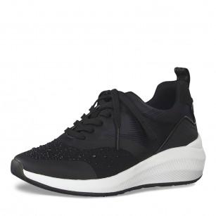 Дамски спортни обувки Tamaris Fashletics на платформа черни