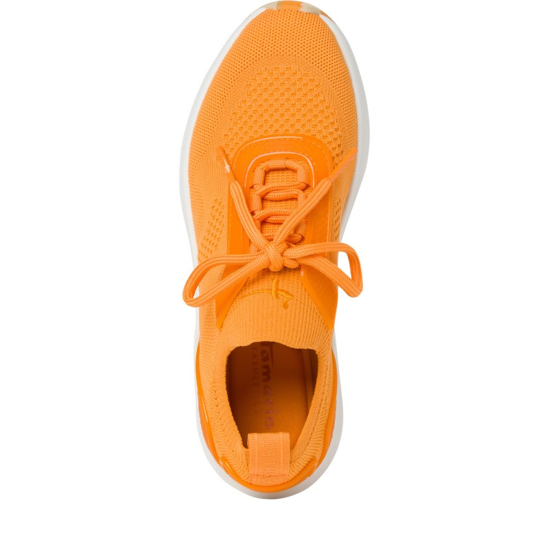Дамски спортни обувки Tamaris Fashletics мемори пяна оранжеви