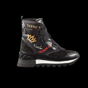 Дамски спортни боти Yoncy®  Grafitti Boots