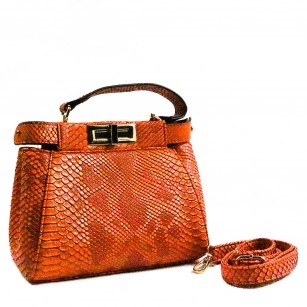 Дамска малка чанта Yoncy® оранжева