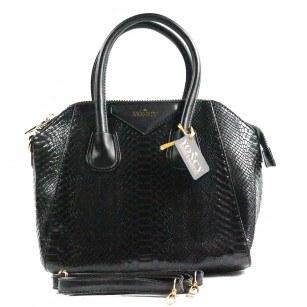 Дамска средна чанта Yoncy® черна
