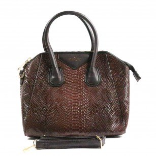 Дамска средна чанта Yoncy® кафява
