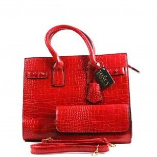 Дамска чанта Yoncy® червена