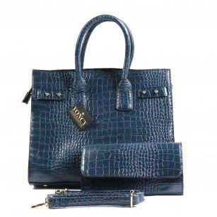 Дамска чанта Yoncy® синя