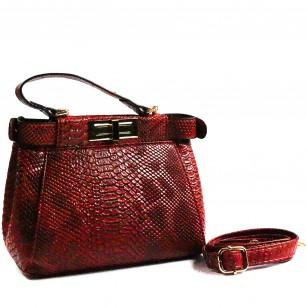 Дамска малка чанта Yoncy® червена