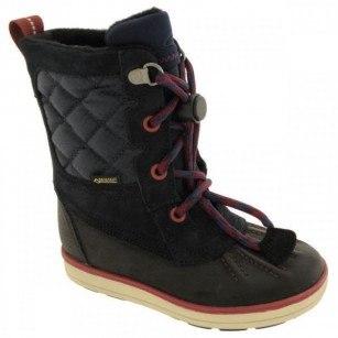 Детски обувки Clarks Gore TEX  непромокаеми сини