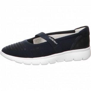 Дамски равни обувки с еластична мембрана Ara тъмно сини