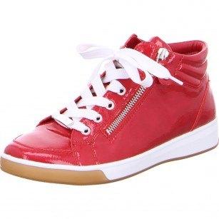 Дамски спортни обувки Ara High Soft червен лак