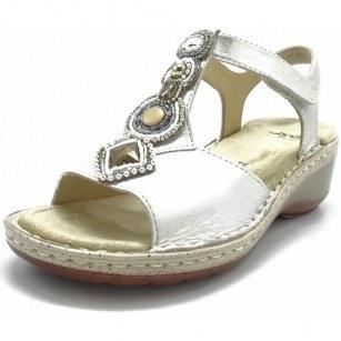 Дамски сандали на платформа Ara естествена кожа