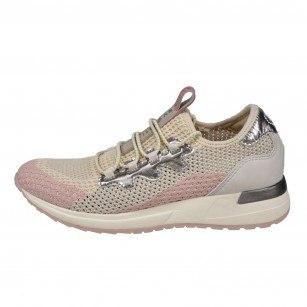 Дамски спортни обувки Bugatti® бежово/розови