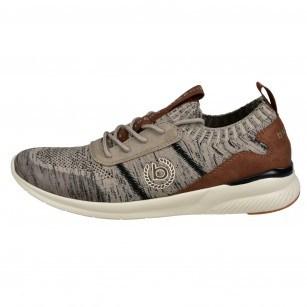 Мъжки спортни обувки с връзки Bugatti®  бежови