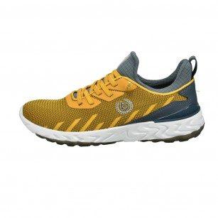 Мъжки спортни обувки с връзки Bugatti® жълти