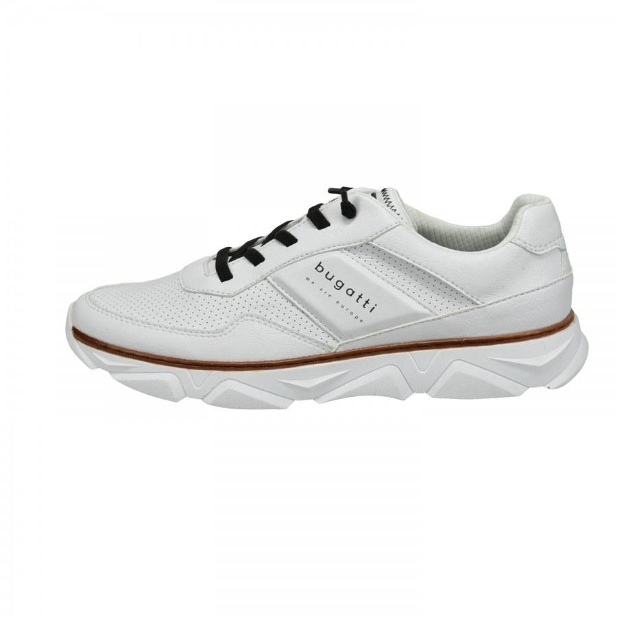 Мъжки спортни обувки с връзки Bugatti® бели