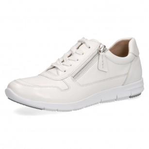 Дамски спортни обувки Caprice естествена кожа бели мемори пяна