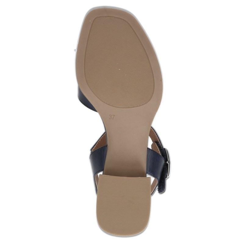 Дамски ежедневни сандали Caprice естествена кожа сини