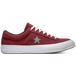 Спортни обувки Converse ONE STAR OX DARK BURGUNDY/MASON 161631C