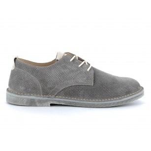 Мъжки обувки IGI & CO естествен велур сиви