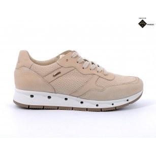 Дамски обувки IGI & CO естествен набук бежови GORE-TEX® НЕПРОМОКАЕМИ