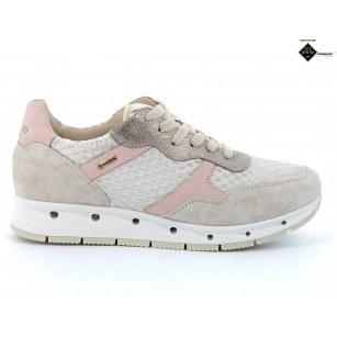 Дамски обувки IGI & CO сиви/розови GORE-TEX® НЕПРОМОКАЕМИ