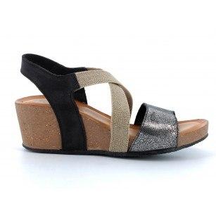 Дамски сандали IGI & CO на платформа цветни