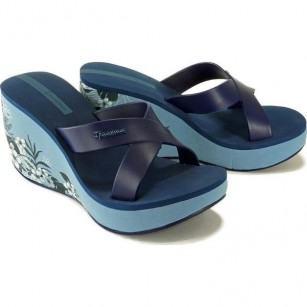 Дамски чехли на платформа Ipanema LIPSTICK  STRAPS V FEM сини