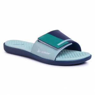 Дамски чехли RIDER POOL FEM сини/зелени