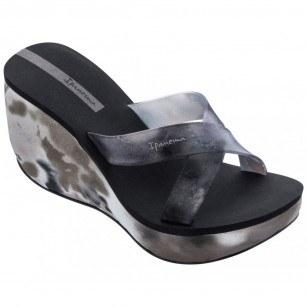 Дамски чехли на платформа Ipanema Lipstick Straps VII Fem черни
