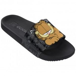 Дамски чехли ZAXY Garfield Slide Fem черни